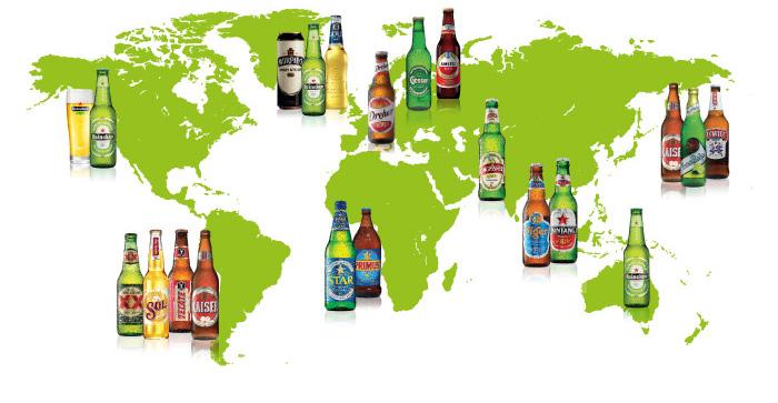 Heineken map