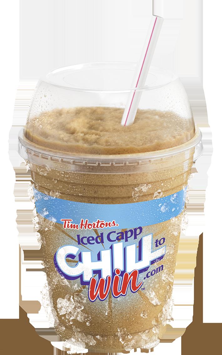 Tim Hortons Iced Capp ChilltoWin