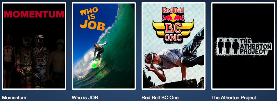 Most Popular Shows on Red Bull TV
