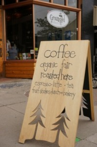 Grounded Coffee Co. Sign