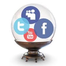 social media crystal ball