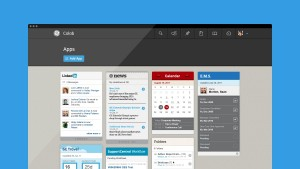 Screen shot of the GE Colab user interface designed by Frog Designs.