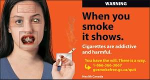 Quit smoking ad.