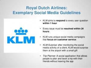 KLM Guidelines
