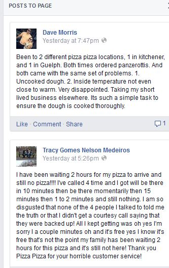 PizzaPizzaFBComplaint_Mon1139June8
