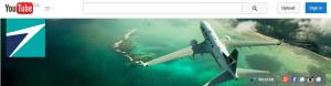 WestJet YouTube channel