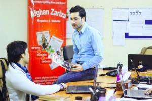 Zafar Mehdi, Afghan Zariza's editor