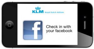 KLM Facebook