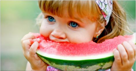 watermelon child