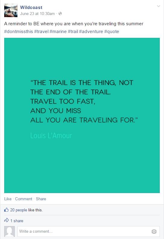 FB quote Wildcoast