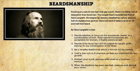beardmanship