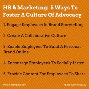 5 ways to foster a culture of advocacy