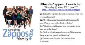 ZapposInside Twitterchat
